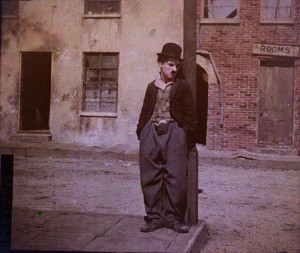 Rare Colour Portraits of Charlie Chaplin, ca 1917-1918 (4)